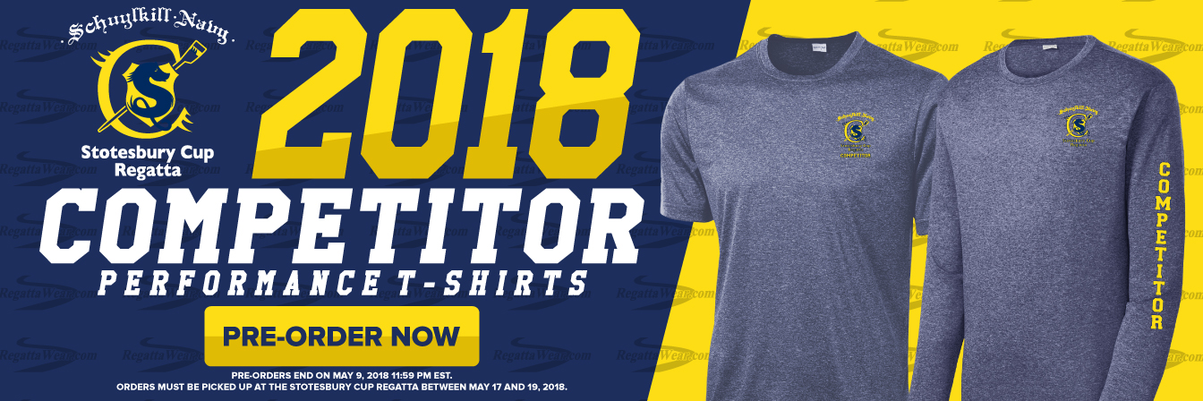 Shop Now Stotesbury Cup 2018 Competitor T-shirts
