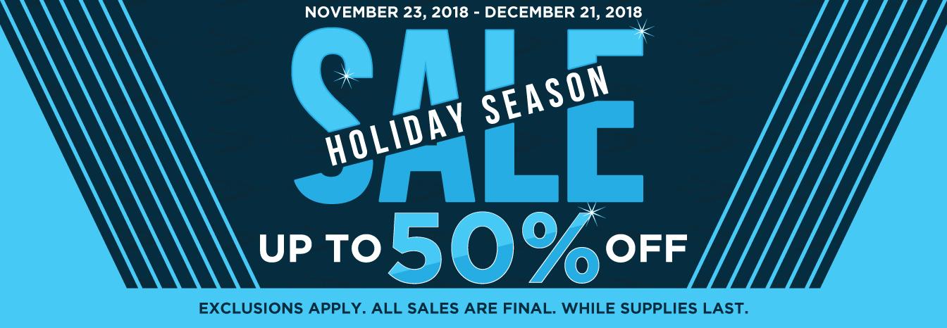 RegattaWear.com - 50% OFF Holiday Season Sale November 23, 2018 - December 21, 2018